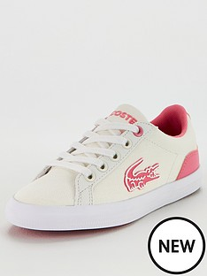 lacoste-lerond-319-4-junior-trainers-whitepink