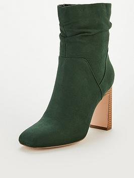 v-by-very-rose-square-toe-slouch-heeled-calf-boots-green