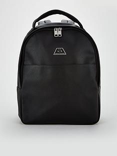 armani-exchange-leather-back-pack