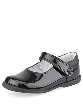 start-rite-younger-girls-slide-school-shoes-black-patent