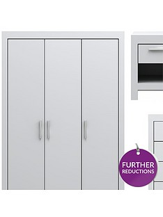 cuba-4-piece-package-3-door-mirrored-wardrobe-5-drawer-chest-and-2-bedside-chests