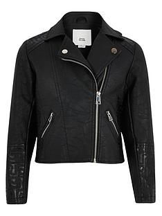 river-island-girls-ri-monogram-biker-jacket-black