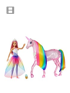 barbie-dreamtopianbspmagical-lights-unicorn-with-princess-doll