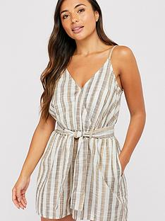 accessorize-woven-stripe-playsuit-cream