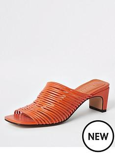 18eb084395ea Heeled Sandals | Party | River island | Sandals & flip flops | Shoes ...