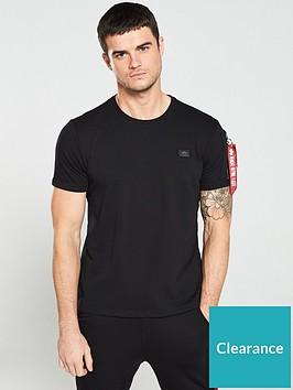 alpha-industries-alpha-industries-x-fit-heavy-t-shirt-black