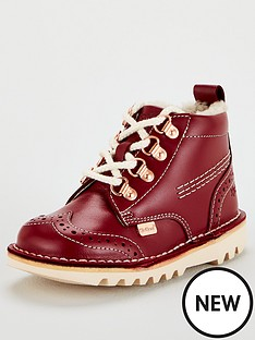 kickers-unisex-childrens-leather-hiker-boots-burgundy