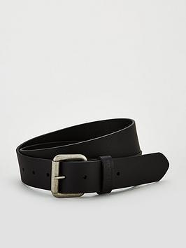 barbour-matte-leather-belt-blacknbsp