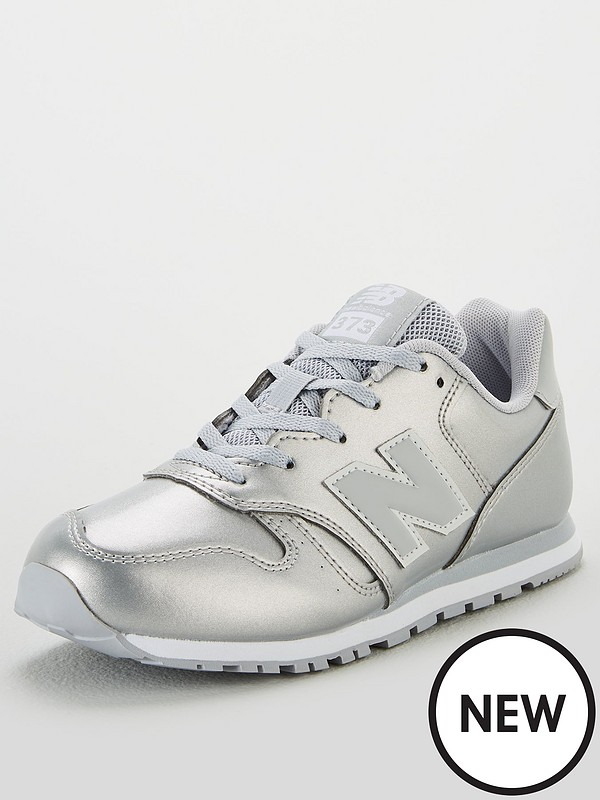 new style 9a597 aa016 373 Youth Trainers - Silver
