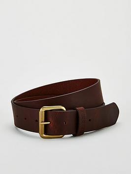 barbour-matte-leather-belt-brownnbsp