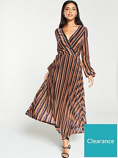 v-by-very-lurex-wrap-stripe-blouson-sleeve-midaxi-dress-stripe
