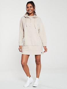 superdry-zip-front-sweat-dress-camel