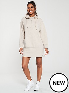 superdry-zip-front-sweat-dress-camel