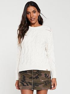 superdry-sophie-ann-cable-knit-top-cream