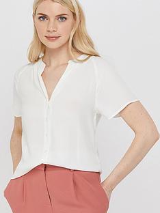 monsoon-zinnia-short-sleeve-blouse-ivory