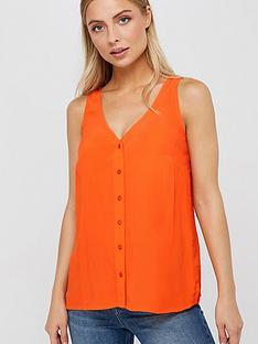 monsoon-kerry-button-cami-orange