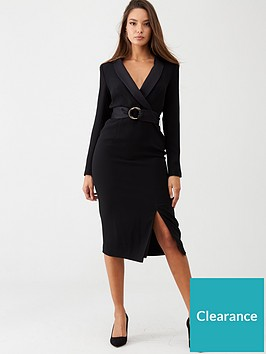 v-by-very-buckled-tuxe-midi-dress-black