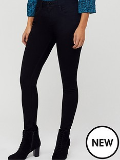 monsoon-nadine-short-jeans-black