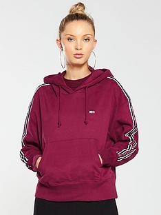 tommy-jeans-tonal-taped-hoodienbsp--red