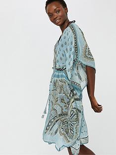 monsoon-chrissie-scarf-print-kaftan-blue