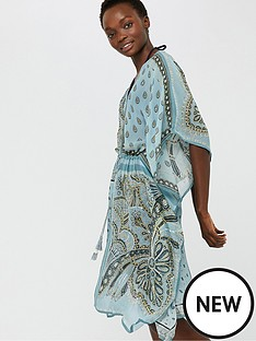 monsoon-chrissie-scarf-print-kaftan-blue