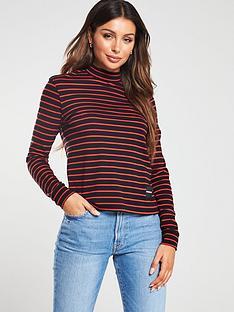 calvin-klein-jeans-mock-neck-long-sleeve-t-shirt-multi