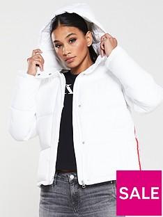 calvin-klein-jeans-monogram-tape-lightweightnbsppadded-jacket-white