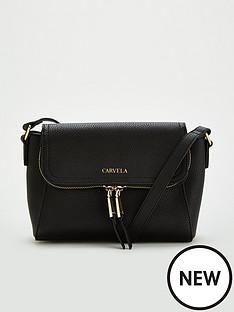 carvela-fola-saddle-bag-black