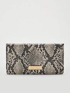 carvela-fox-fold-purse-beige