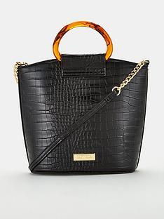 carvela-faloo-croc-bucket-bag-black
