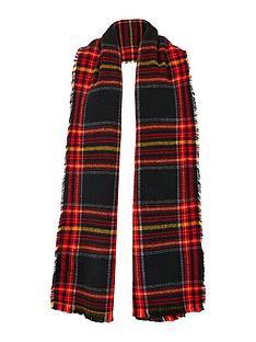 v-by-very-check-woven-scarf