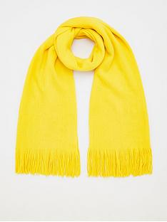 v-by-very-bright-knitted-scarf-yellow