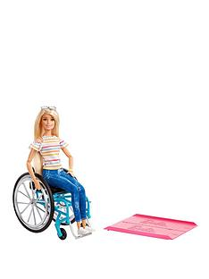 barbie-doll-with-wheelchair-amp-ramp-blonde