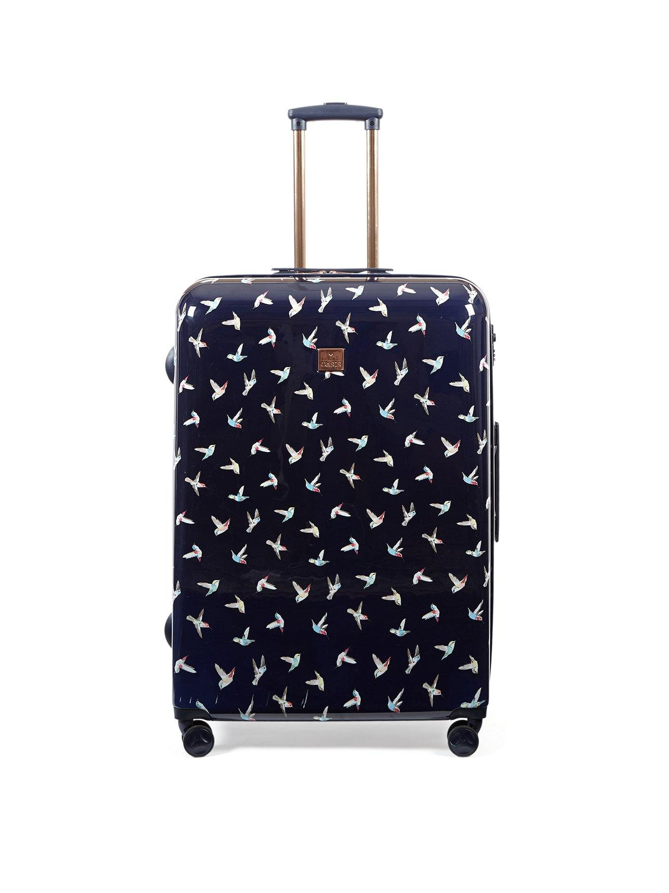 4 Size Art Wave Pattern Printed Business Luggage Protector Travel Baggage Suitcase Cover