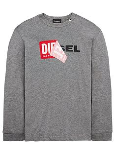 diesel-boys-long-sleeve-double-logo-t-shirt-grey