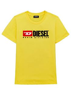 diesel-boys-short-sleeve-logo-t-shirt-yellow