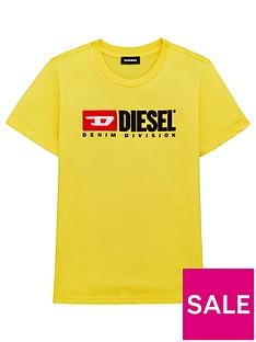 diesel-boys-short-sleeve-logo-t-shirt-yellow