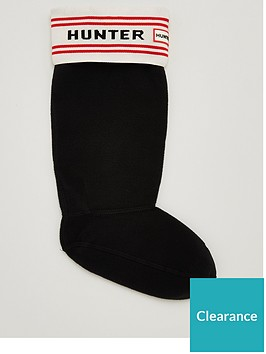 hunter-branded-knitted-cuff-boot-sock