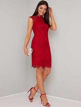 chi-chi-london-paulina-lace-midi-dress-berry