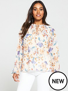 v-by-very-poets-blouse-floral