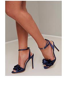 chi-chi-london-osana-heeled-sandals-navy