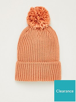 v-by-very-knitted-pom-pom-beanie-dusty-pink