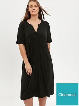 evans-notch-neck-dress--black