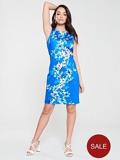 wallis-magnolia-scuba-dress-blue