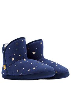 joules-cabin-fleece-lined-slipper-sock-with-rubber-outsole-navystar-print