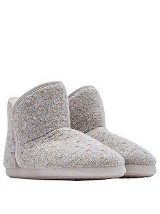joules-cabin-fleece-lined-slipper-sock-with-rubber-outsole-marl-spot