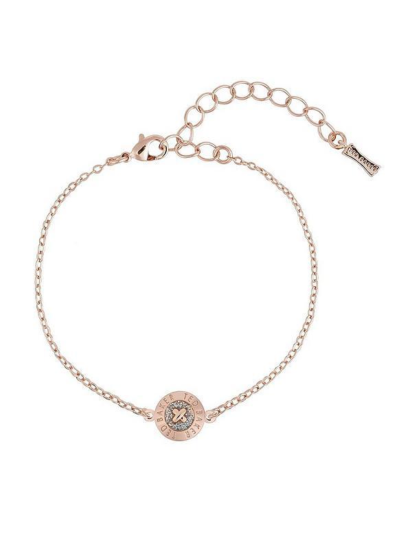 the sale of shoes order online outlet store Ted Baker Eisa Enamel Mini Button Bracelet - Rose Gold ...