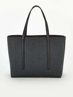boss-casual-taylor-embossed-shopper-bag-black