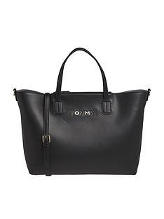 tommy-hilfiger-iconic-satchel-black