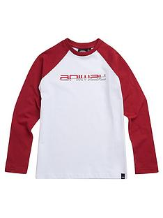 animal-boys-bert-long-sleeve-contrast-t-shirt-red